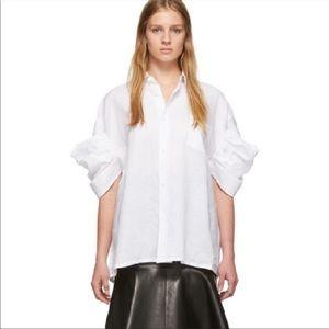 Junya Watanabe COMME DES GARÇONS White Lawn Shirt
